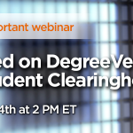 Free Webinar: Get Schooled on DegreeVerify image