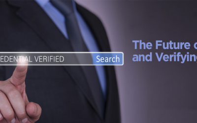 "Watch the ""Future of Education and Verifying Credentials"""