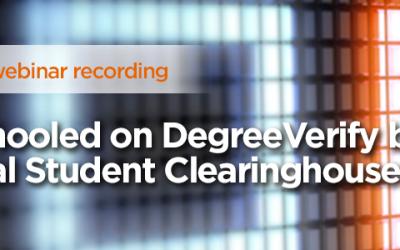 On-Demand Webinar: Get Schooled on DegreeVerify