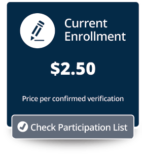 Current Enrollment Price/Participation Button