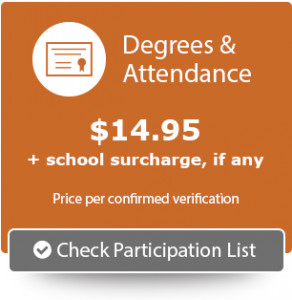 Degrees & Attendance Participation List