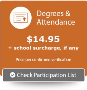 Degrees & Attendance Participation List